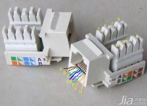 网线插座接法的详细步骤